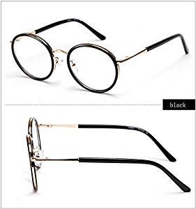 f0000ec272 Cloudings(TM)Fashion Round Frame Eyeglasses Clear Lens