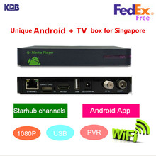 HD Q5 pvr starhub box singapore support nagra 3 for watch HD/SD EPL,New Sports channels