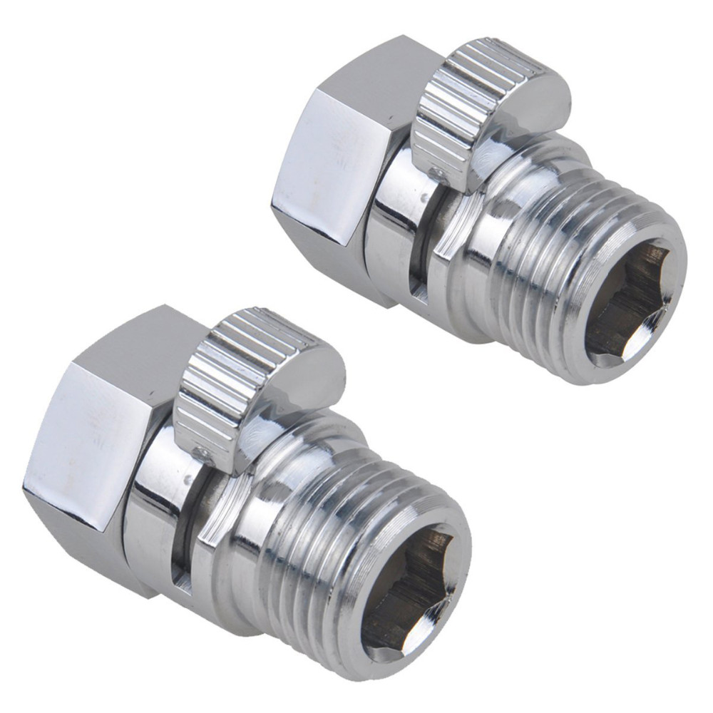 Brass Chrome Shut-Off Shower Valve flow control shower Valve for shower head