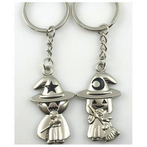 New cute design matching couples pair keychain
