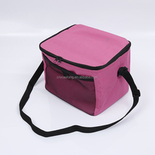 Hot sale high quality promotional 600D polyester thermal insulated cooler bag for frozen food