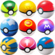 Unionpromo Hot selling 7cm Dia Pokemon Ball Figures Anime Action Figures Toys