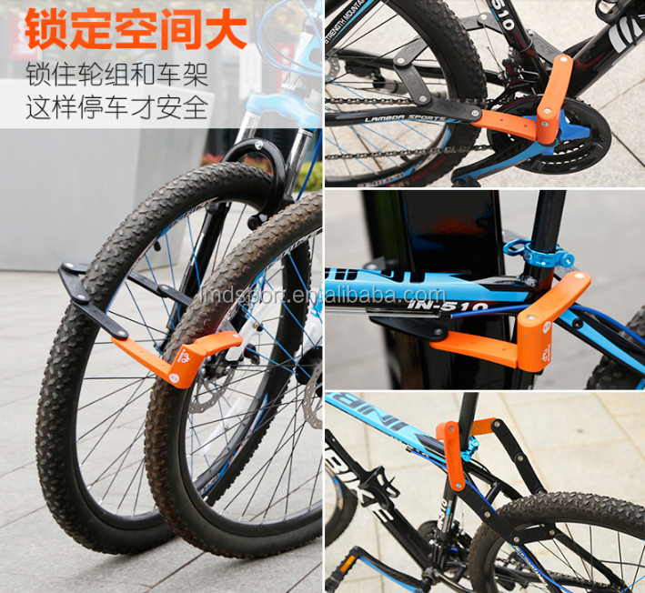 2018 New Multi-function Foldable Bike Lock Bicycle Lock - Buy Foldable Bike  Lock,Bicycle Lock,Bike Lock Product on Alibaba com