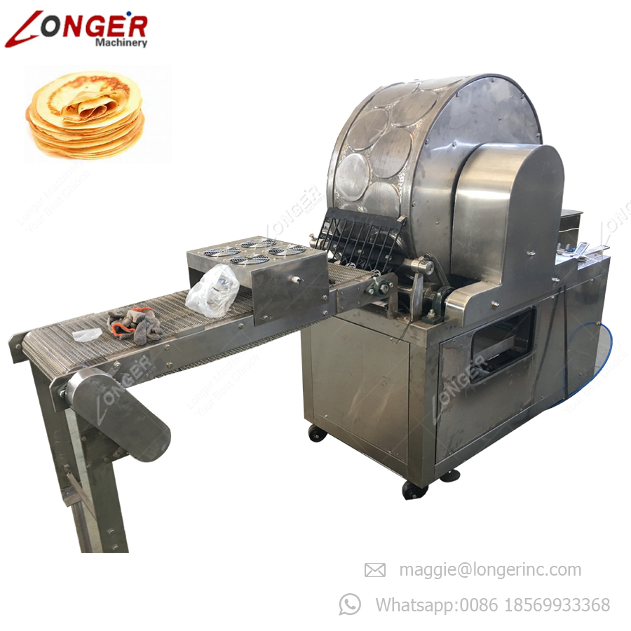 Goede Prestaties Pastry Sheet Crêpe Lente Roll Lumpia Injera Maker Mini Lente Roll Maken Machine op Verkoop