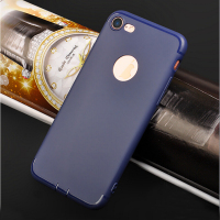 DFIFAN Mobile Phone case for iphone 7 7 plus ,ultra thin blue color for iphone case wholesale