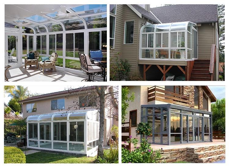 Mooie ontwerp nieuwe technologie product aluminium winter tuin huis