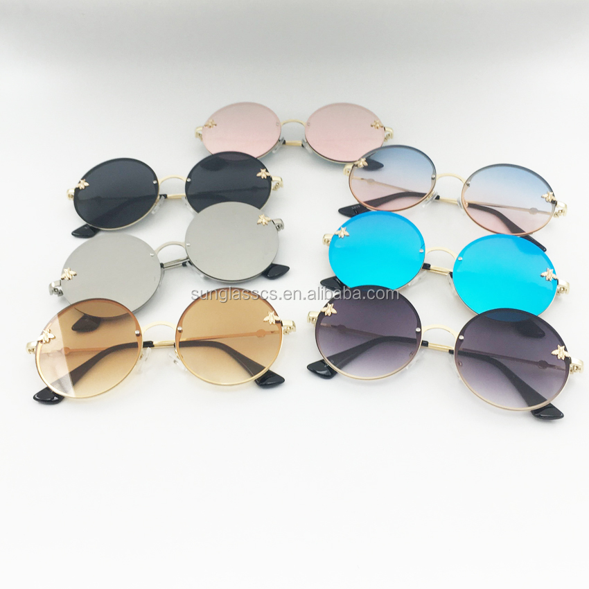 China wholesale price good quality newly shade mirror party girls sunglasses