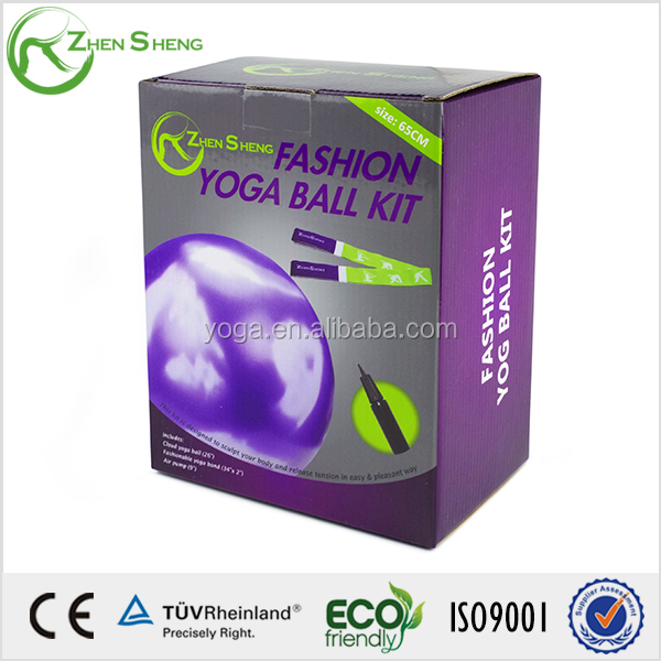 ZhenSheng PVC cheap fitness Yoga Ball