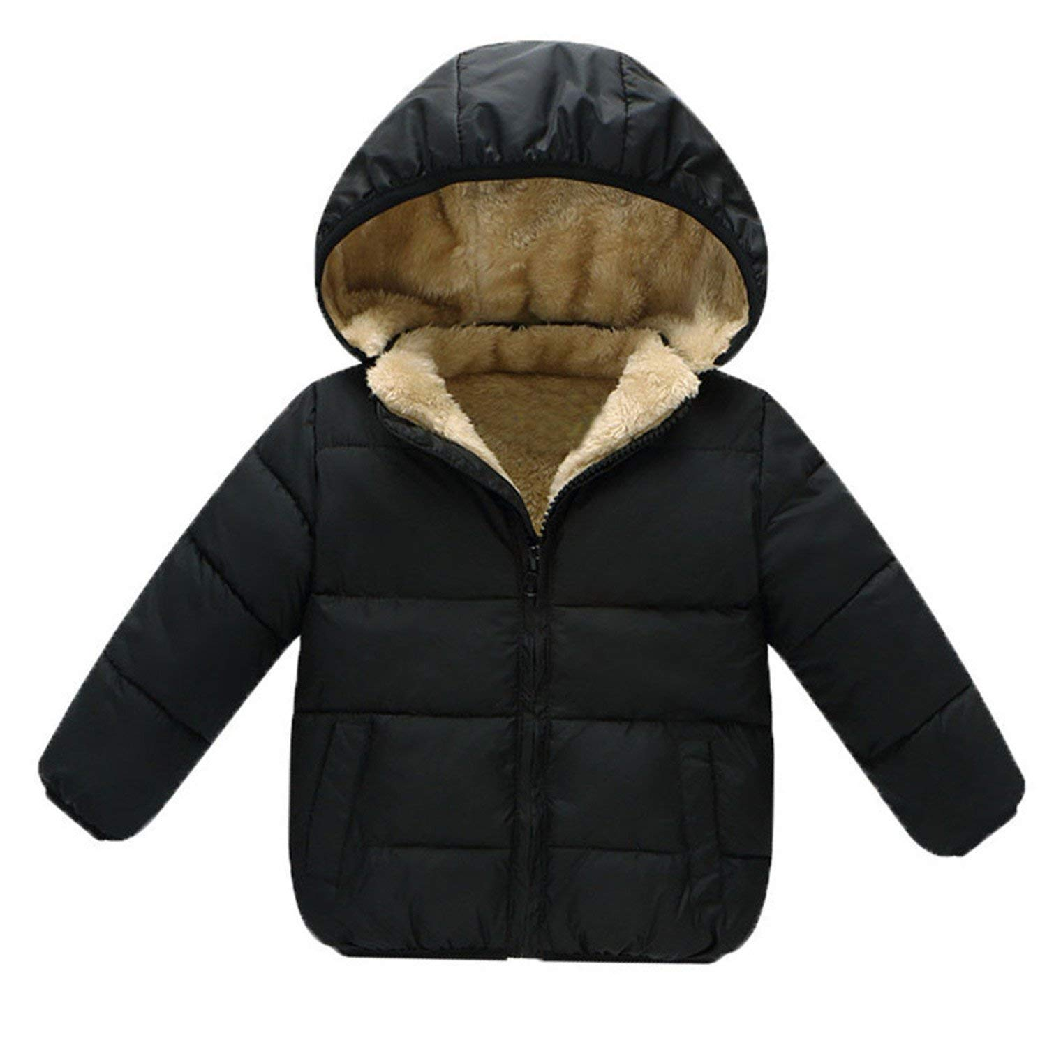 8df27ee5ce5 Get Quotations · Baby Girl Jacket Children Girl Warm Coat Little Girl  Clothes Winter Boys Infant Clothes Kids Winter