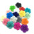 Flower Shape BPA Free Food Grade Soft Loose Silicone Teething Beads