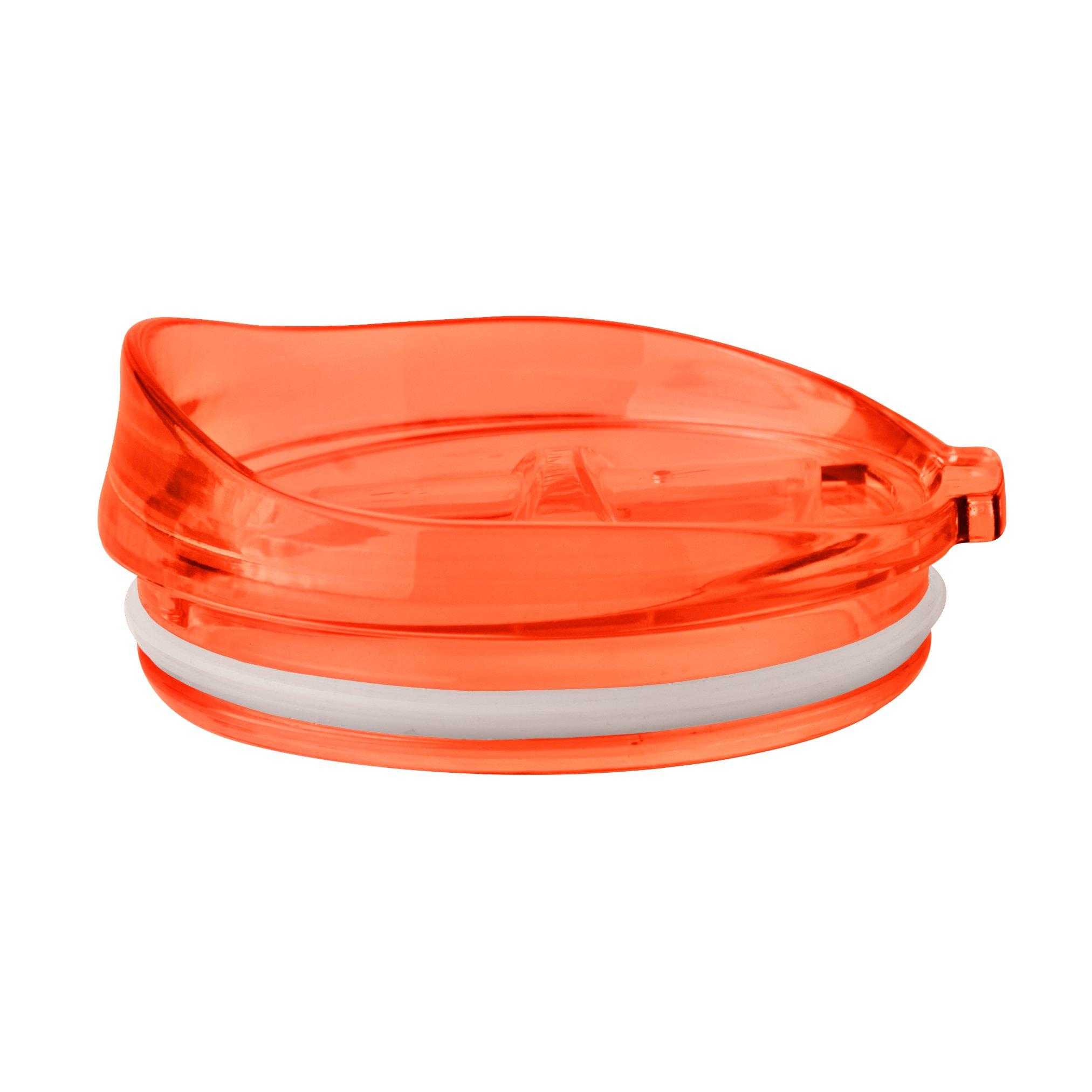 Boelter Brands Ultra 30-ounce Slider Top Lid, Orange