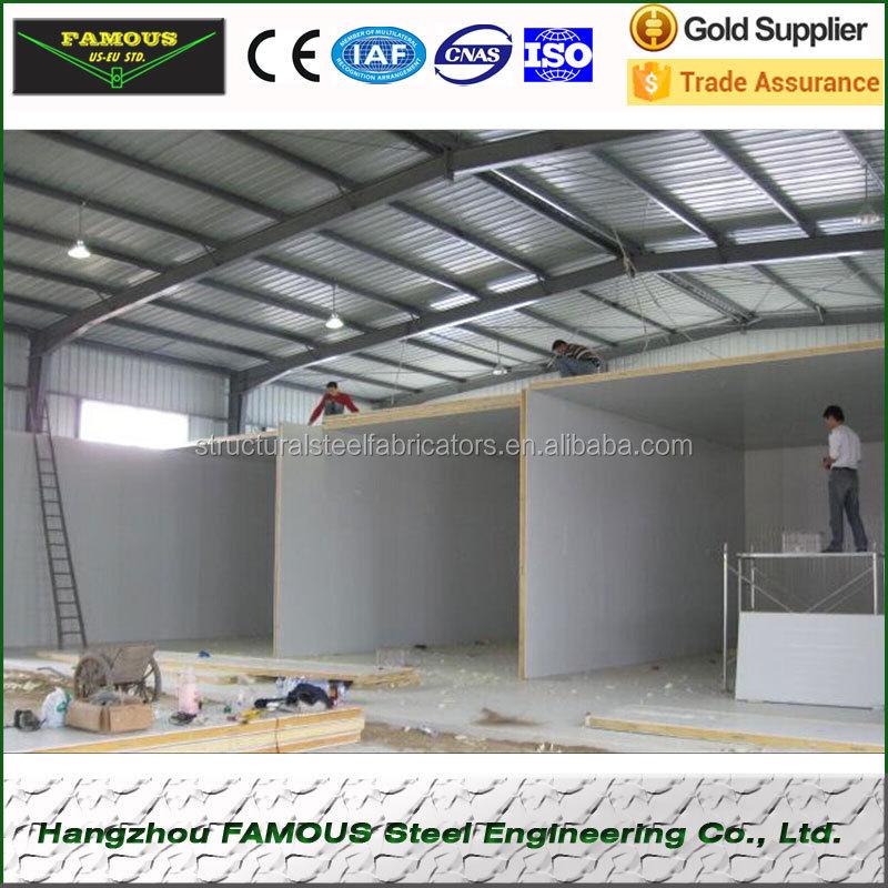 Cold Room Warehouse Insulation Sandwich Floor Panel Price