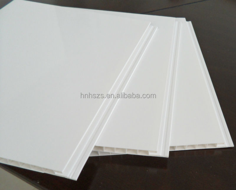 Material de cubierta de pvc liso blanco falso techo - Falsos techos pvc ...