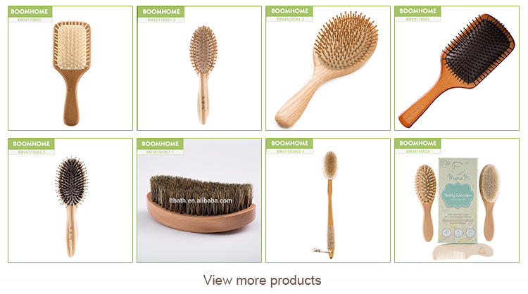 Factory medium soft curve palm wave brush 360 with custom packaging LOGO
