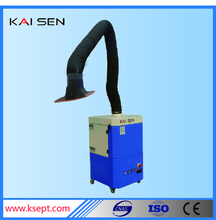 big air volume and air suction arm KSJ-1.5B series mobile welding dust collector easy moving machine