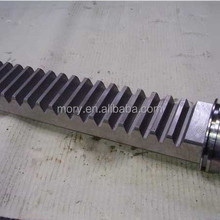 custom steel CNC gear rack and pinion gearing manufacturer China