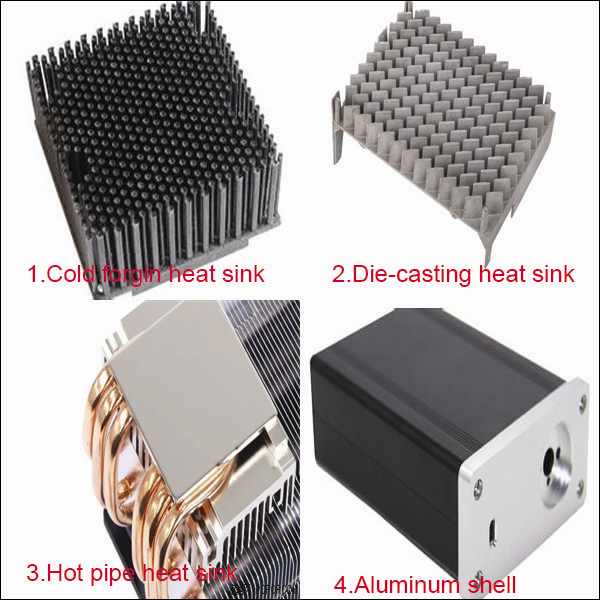 200w High power sunflower heatsink heatsink aluminum extrusion profile LED ligth heatsink