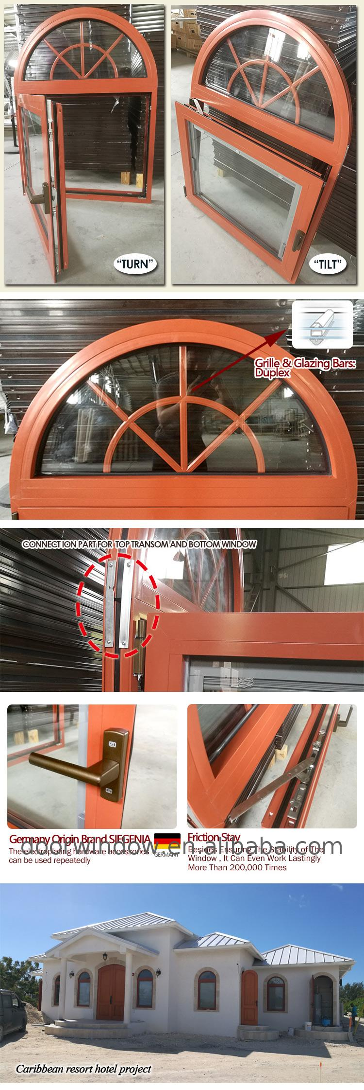 Round windows hung window half