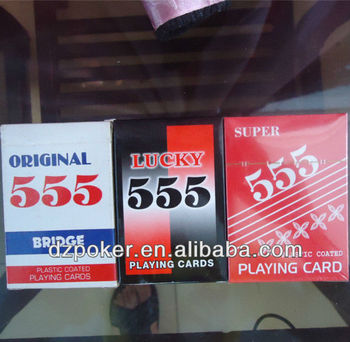 Hot Selling 555 series Playing Cards