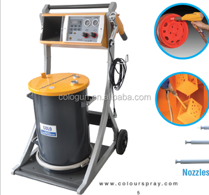 New Style Colo Manual Powder Coating Paint Equipment with vibrating function