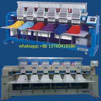 six head embroidery machine/textile machinery for women and men uniform