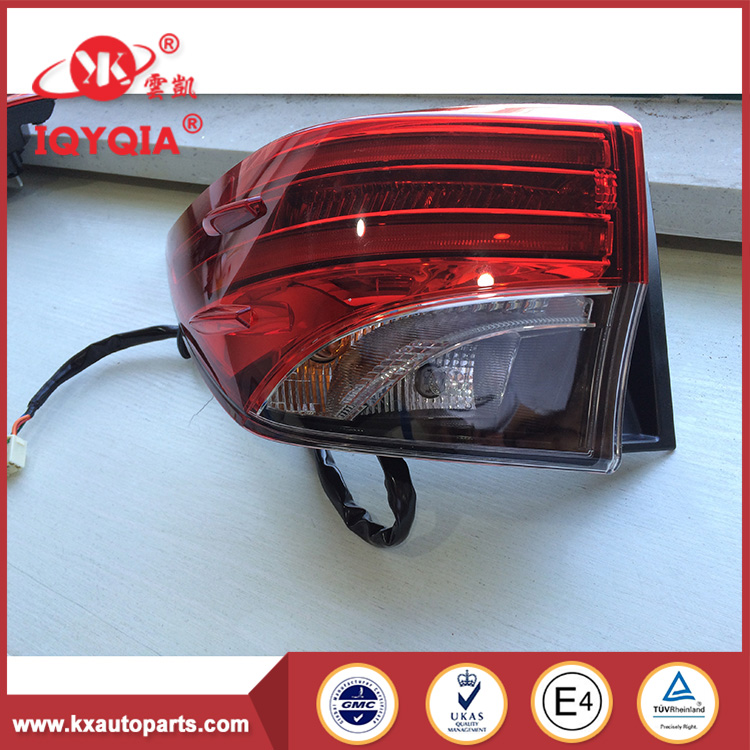 Good Price tail driving car light for FORTUNER SW4 2016