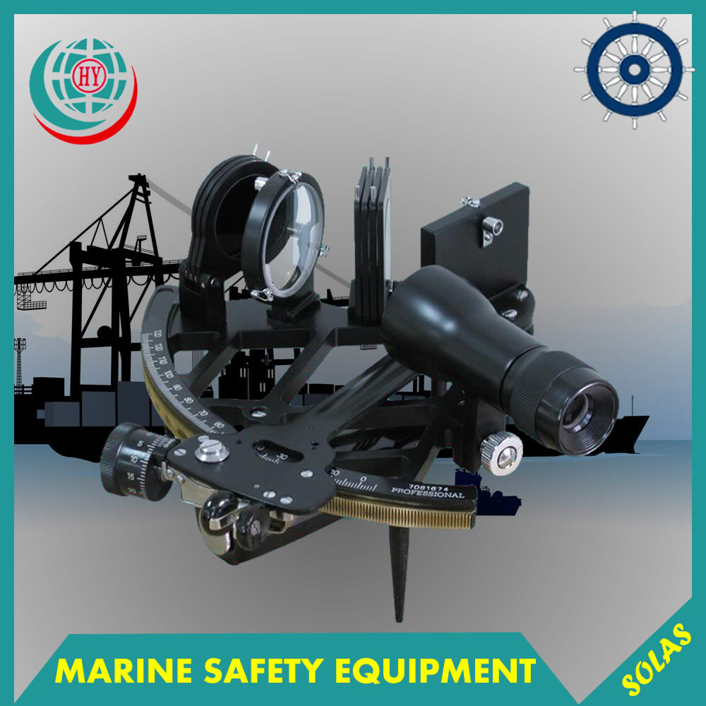 Maritime sextant instrument for ships