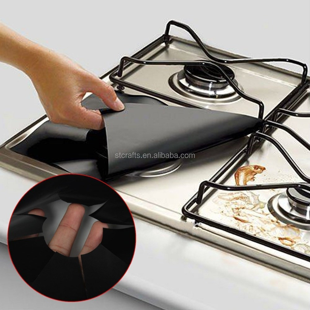 Glass Fiber <strong>Gas</strong> Stove Protectors Reusable <strong>Gas</strong> Stove Burner Cover Liner Mat Pad Home Kitchen Tools Fit Almost <strong>Gas</strong> Stoves
