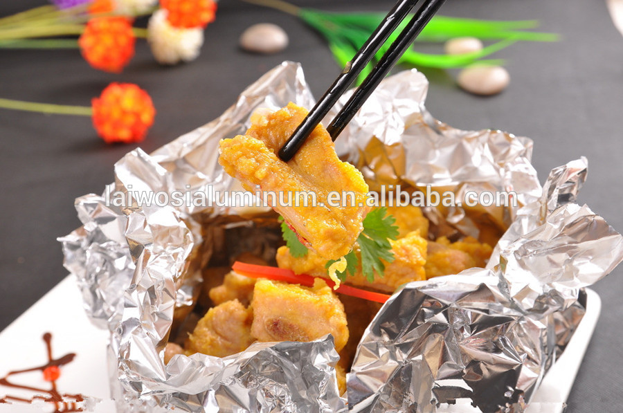 Aluminum Household Foils Food Packaging Aluminium Foil Paper