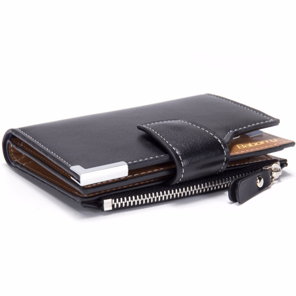 Trifold 12*10*2cm Custom PU Wallet for <strong>Man</strong>