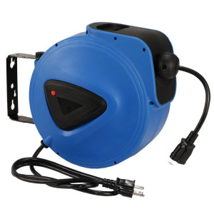 Auto Retractable 15M Cabel Cord Hose Reel
