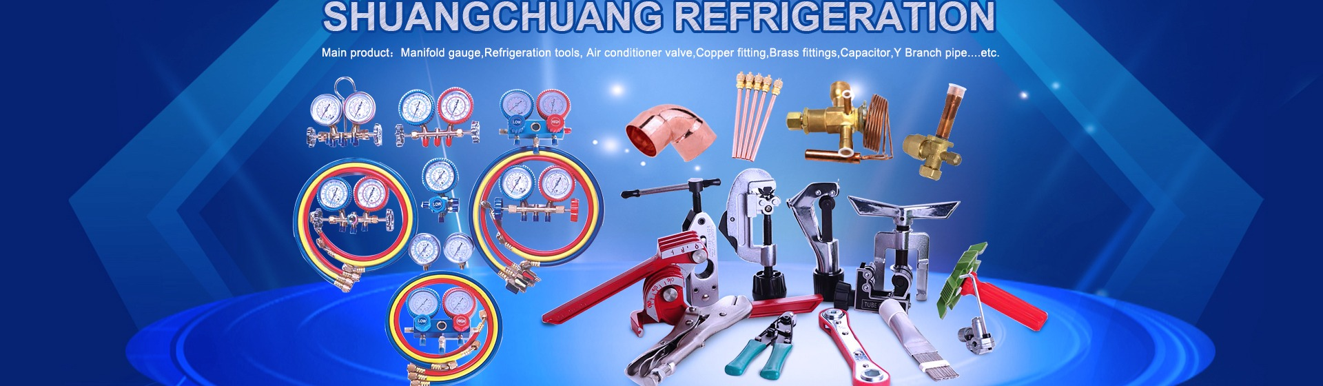 Yiwu Shuangchuang Refrigeration Equipment Co Ltd Air Electrical Engineering In And Conditioning Conditioner Parts Copper Fittings