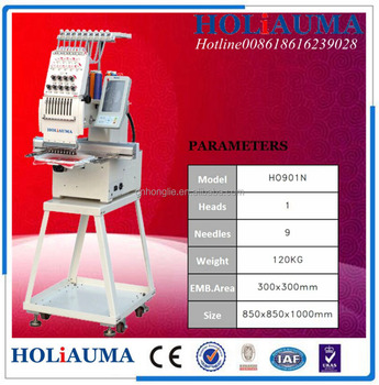 Cheap Embroidery Machine Price High Quality Single Head Hat