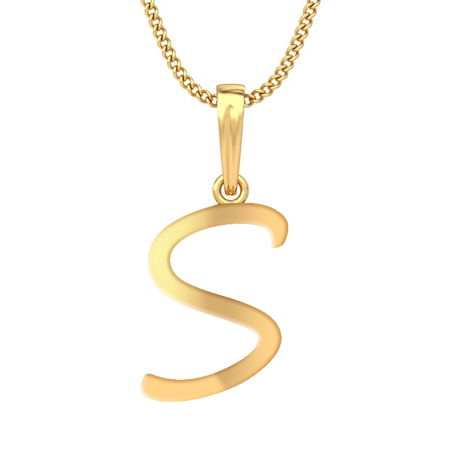 sterling s letter product silver shipping bling over jewelry on script initial necklace free watches pendant overstock inches orders