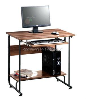 Living Room Mini Computer Desk With Keyboard Holder