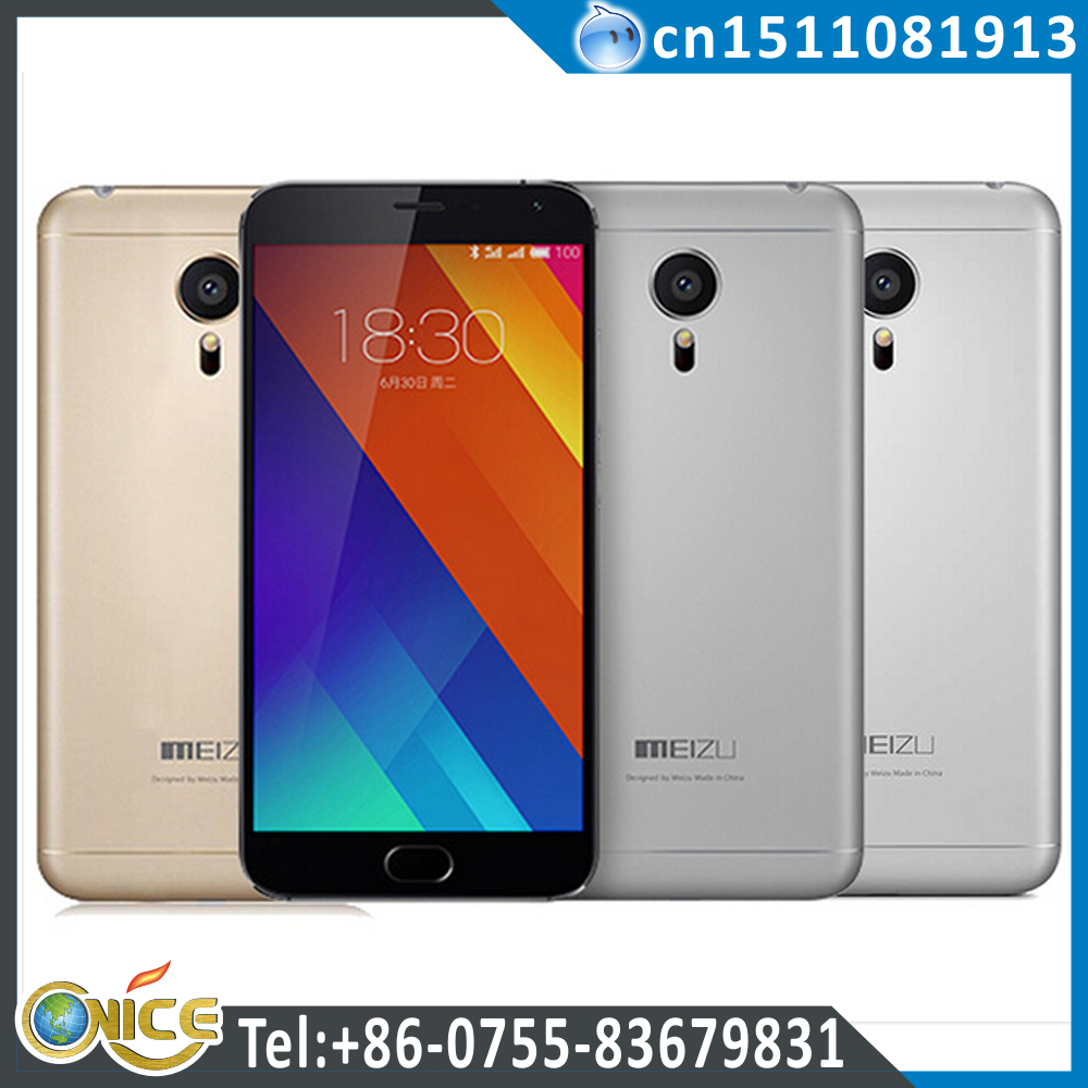 Meizu MX5 MT6795 Helio X10 Turbo 2.2GHz 64Bit 5.5'' OGS Touch ID 4G FDD LTE 32GB 3GB 20MP+5MP 1920*1080 Smart Phone mx5 meizu