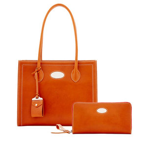 ladies handbags manufacturers elle camel tote handbags with pouch