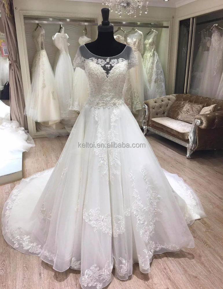 2018 Cap Sleeve Amanda Novias Wedding Dresses Gelinlik Dress 2017 Product On Alibaba