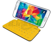 Folding Bluetooth Wireless keyboard case for samsung s4 mini