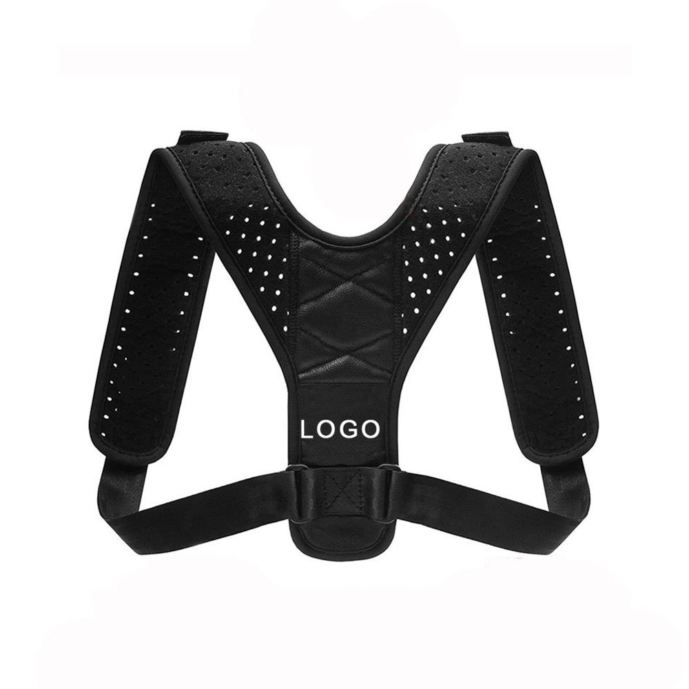 OEM Freedom Adjustable Shoulder Support Brace Clavicle Brace Upper Back Posture Corrector with Private Label, Black or other custom color