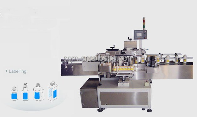High efficient Double Face Labeling Machine for bottle