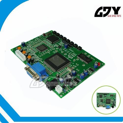Rgb/rca/hdmi/rca To Vga Converter Board For Arcade Game Machine ...