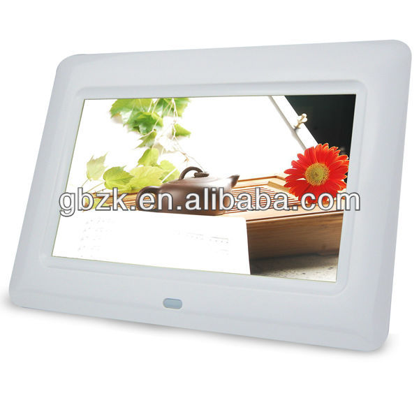 digital 7inch voice recording digital photo frame