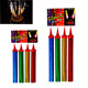 Colorful No smoke No Smell Indoor Birthday Cake Candle Ice Fountain Fireworks