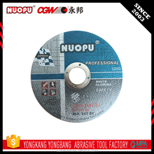 Quick and easy yuri cut off abrasive cutting grinding wheel en12413