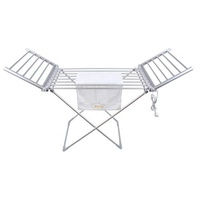 EVIA aluminum folding electric portable clothes drying rack