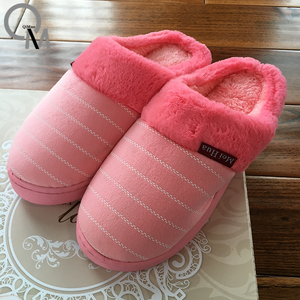 2018 New Breathable design winter warm hot selling indoor latest design girls slippers for women/Flip Flop