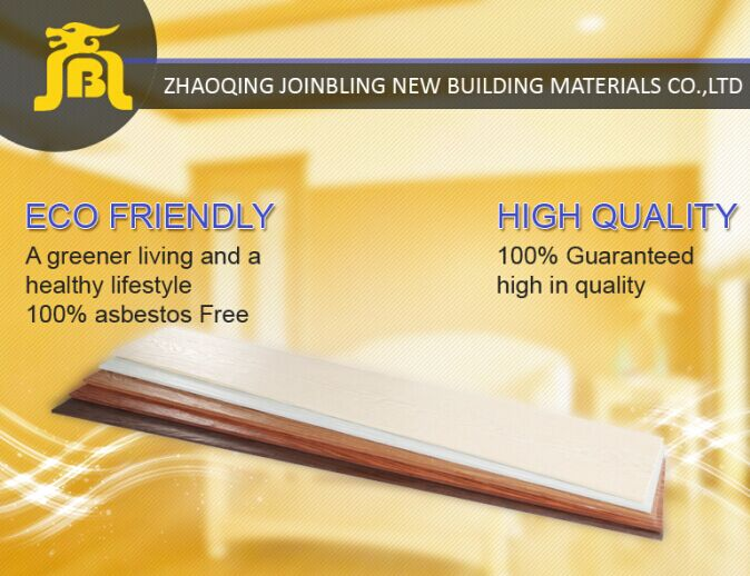 Weatherproof Wood Wool Fiber Cement Exterior Wall Cladding