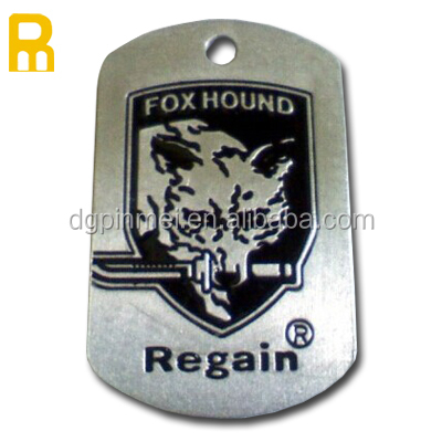 Personalized custom metal engraving dog tags