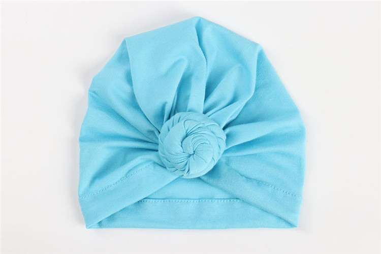 Baby turban hat/baby topknot turban headband hats